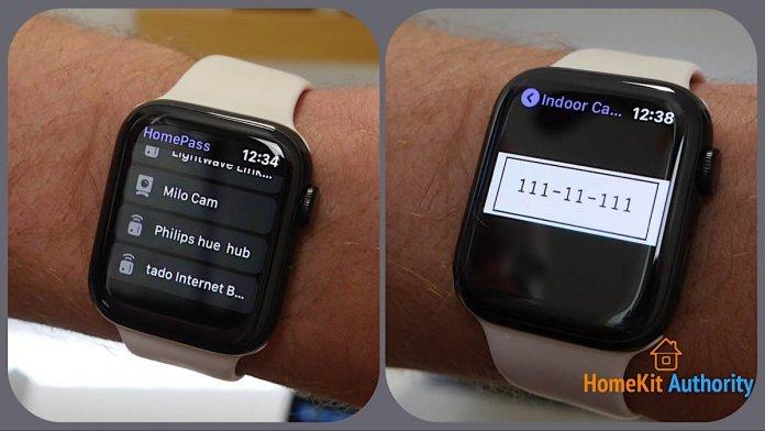 HomePass Apple Watch App