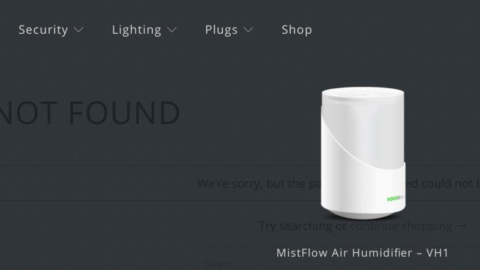 Vocolinc Misflow Air humidifier VH1