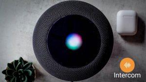 Apple intercom HomePod Iphone walkthrough