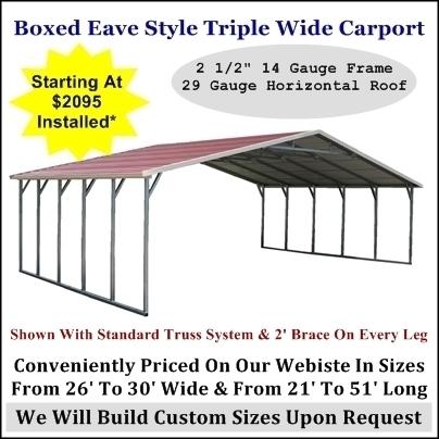 Metal Carports Metal Buildngs RV Covers Steel Garages