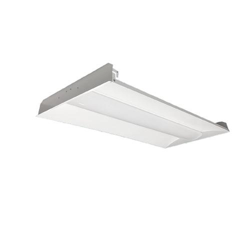 industrial lighting products 34w 2x4 led recessed troffer 0 10v dimmable 4590 lm 120v 277v 4000k vol24 34wled univ 40