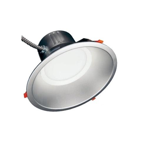 tcp lighting 12 in 45w led recessed downlight dimmable 4500 lm 120v 277v 3500k dlc1245uzd35k