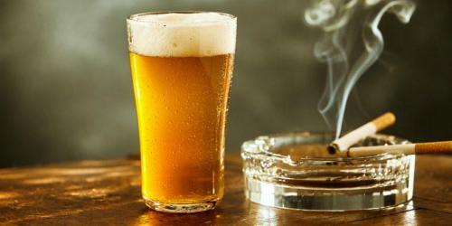 Evite o tabagismo e o consumo de álcool