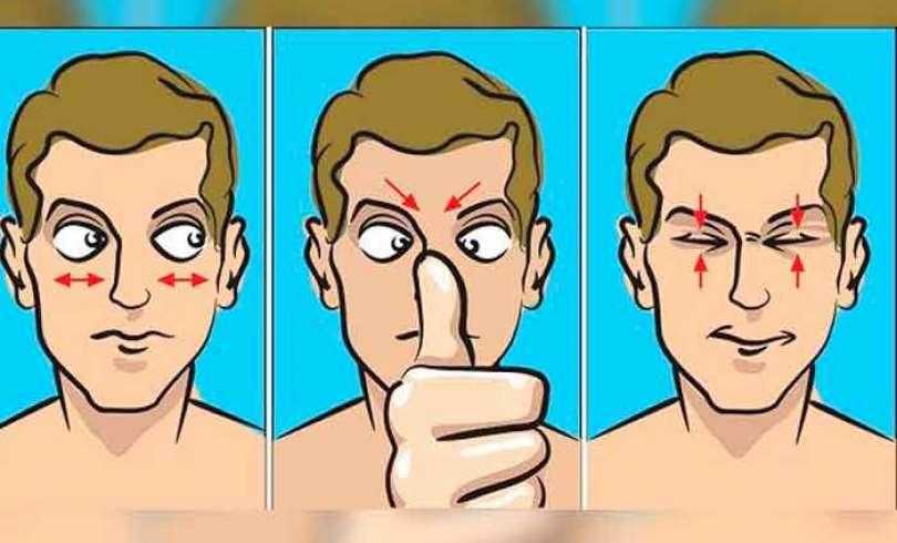 exercícios que fazem bem para a visão