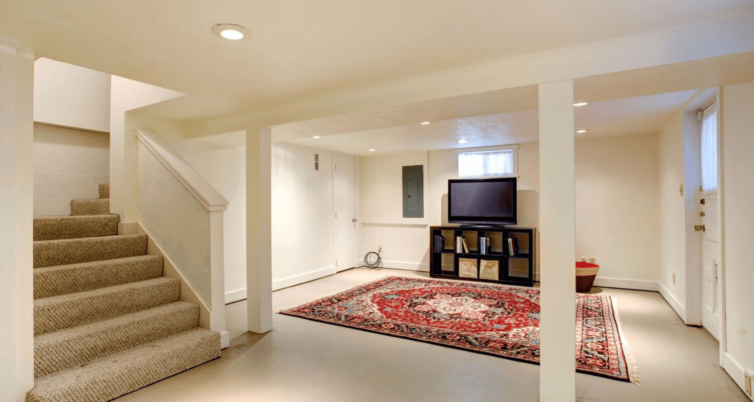 Here S How Much Value A Finished Basement Really Adds