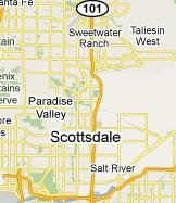 Scottsdale Map