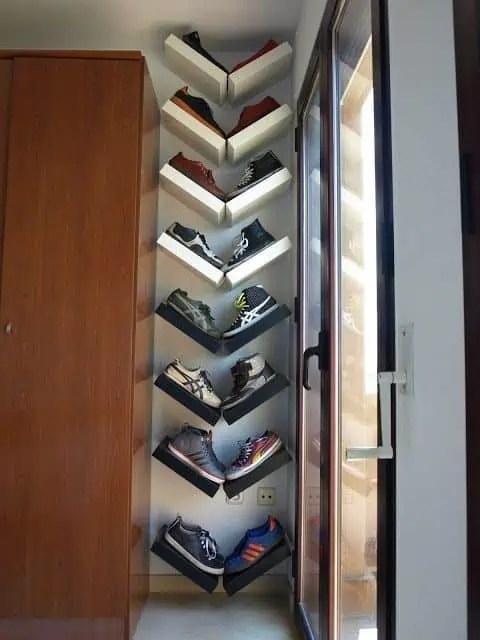 astuces pour le rangement des chaussures