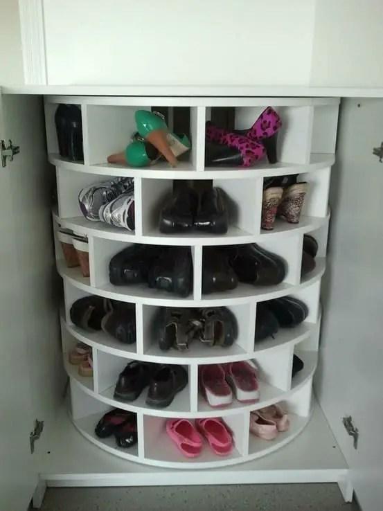 13 placez une tour pivotante dans un placard ou une armoire a chaussures