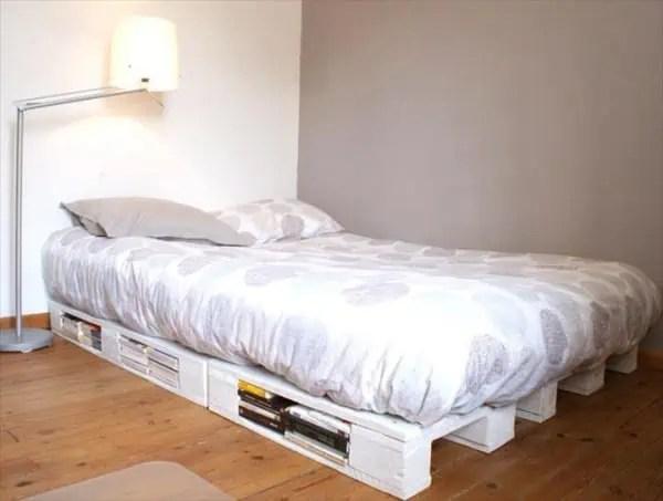 fabriquer un lit en palette