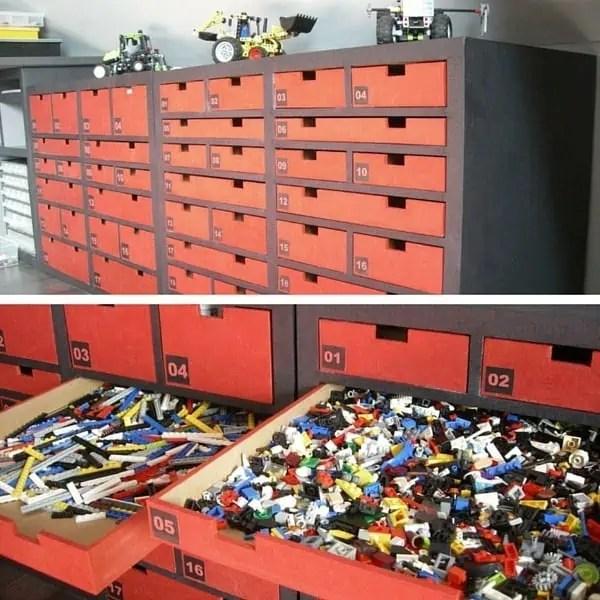 casier de rangement lego venus et judes