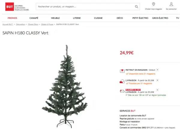 Sapin De Noël Pas Cher Les Bons Plans Les Meilleures