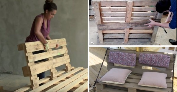 8 tutos videos pour fabriquer un canape
