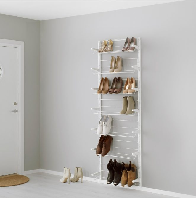 rangement chaussures ikea les