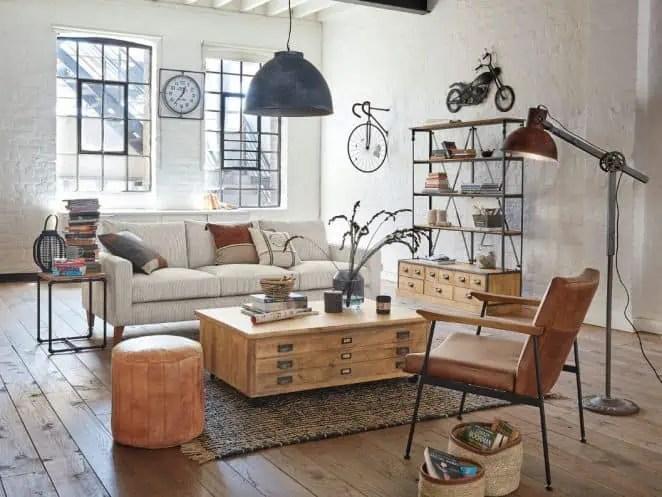meuble industriel maisons du monde