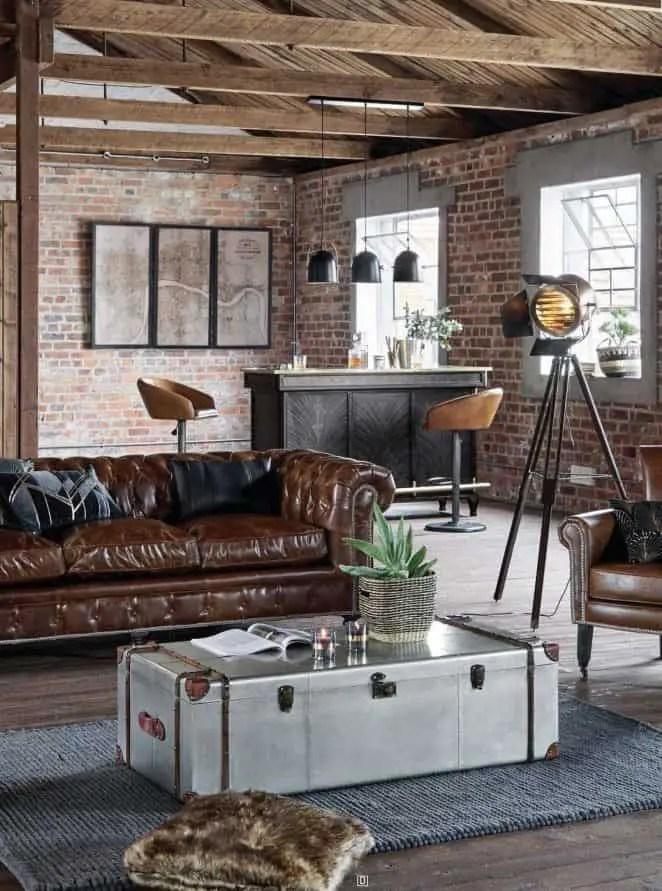 salon industriel tendance 30 idees