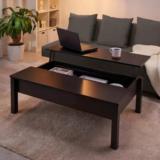 11 Tables Basses Relevables Pour Optimiser L Espace Du Salon