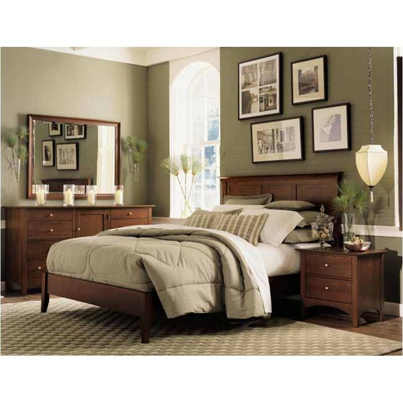43 150 Kincaid Furniture Gathering House Queen Low Profile Bed