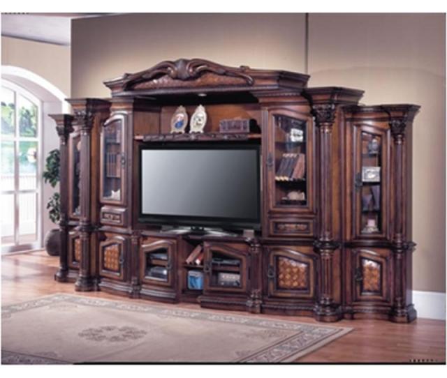 Gra100 Parker House Furniture Grandview Home Entertainment Entertainment Center