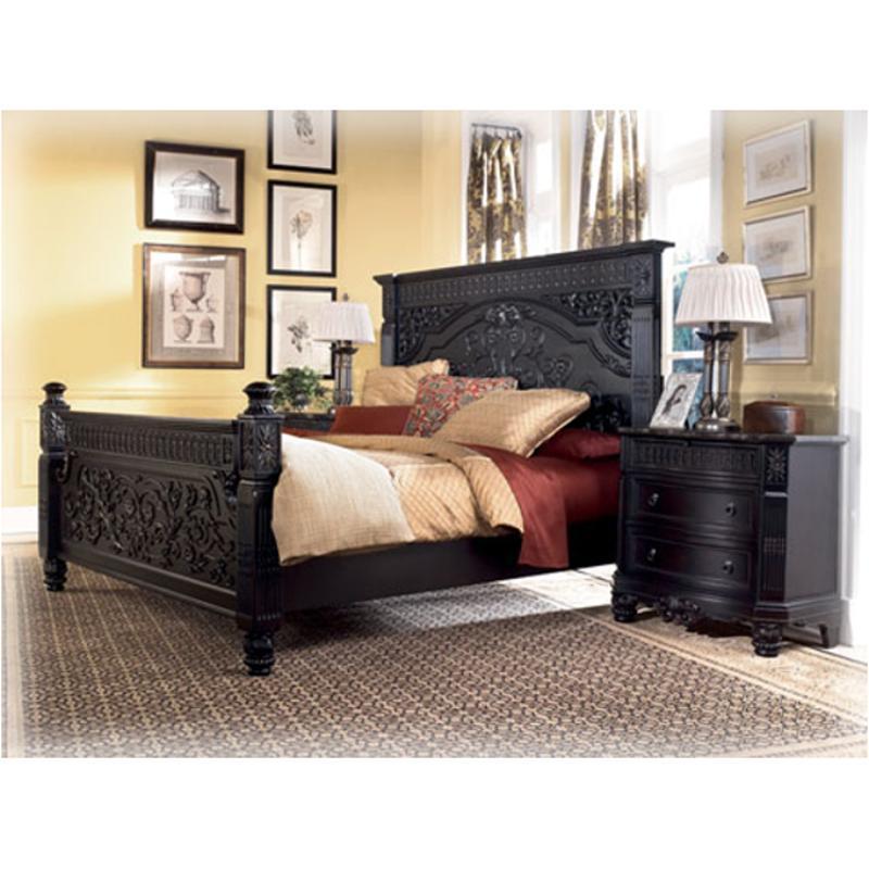 B651 97 Ashley Furniture Britannia Rose Bedroom King Panel