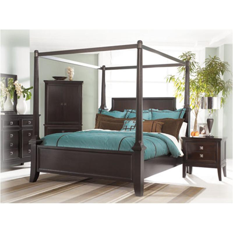 B551 71 Ashley Furniture Queen Poster Bed With Canopy