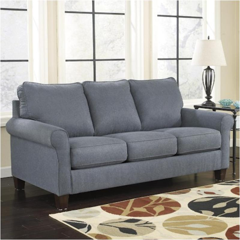 2710136 Ashley Furniture Zeth Denim Full Sofa Sleeper