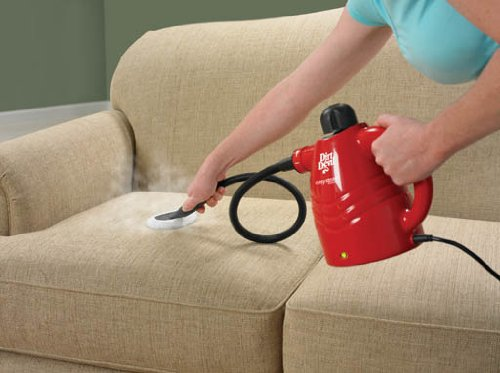 Steam Cleaning Your Couch. Dirt Devil Steam Cleaner Easy Steam Corded  Handheld Steam Cleaner PD20005