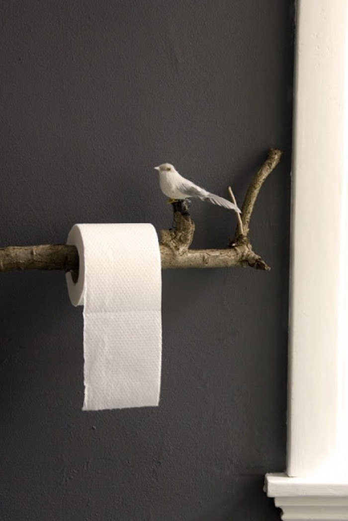 15 Totally Unusual DIY Toilet Paper Holders Homelovr