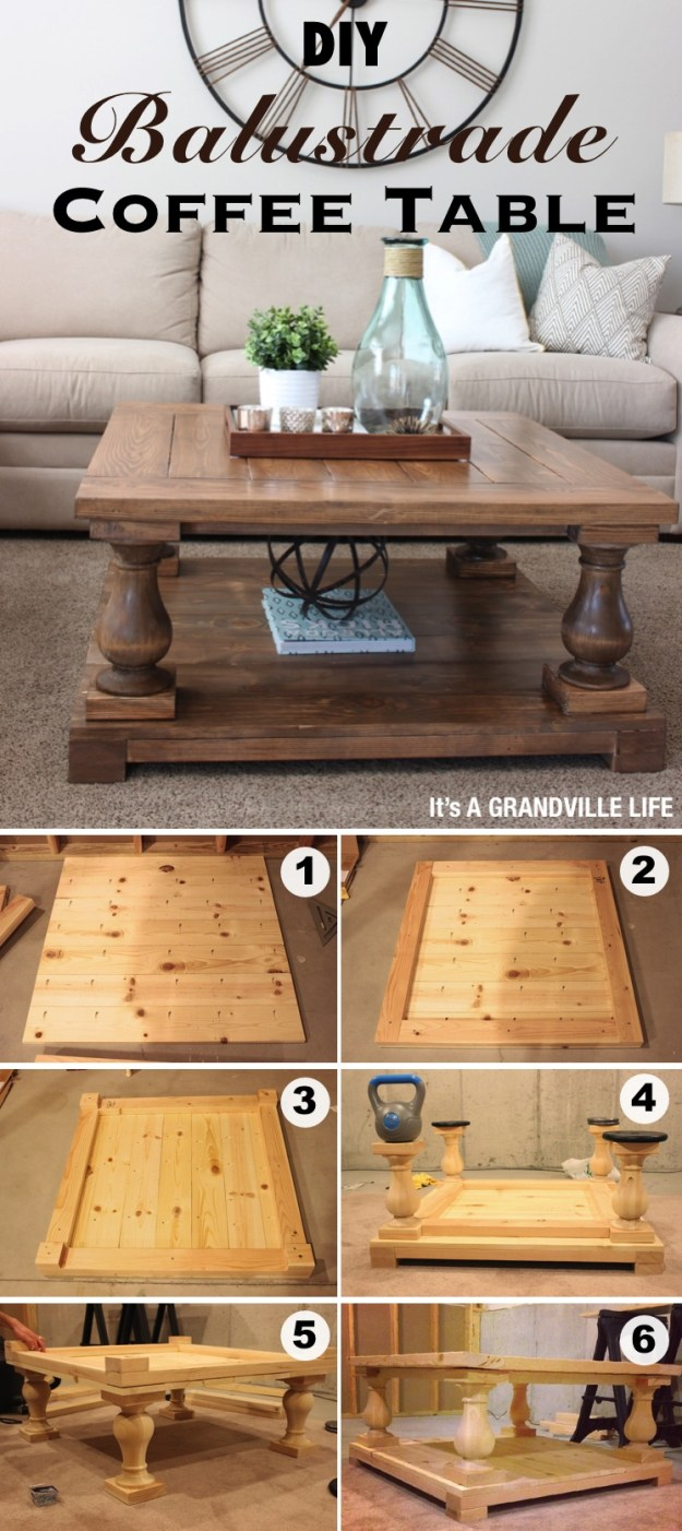 15 creative diy coffee table ideas you can build yourself - homelovr