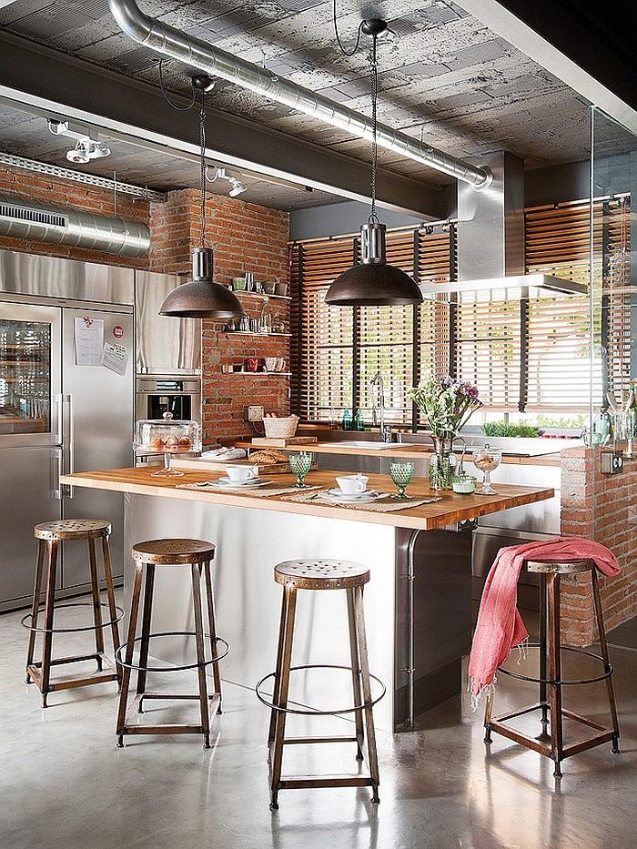 19 Stunning Interior Brick Wall Ideas | Decorate With ... on Brick Wall Decorating Ideas  id=53603