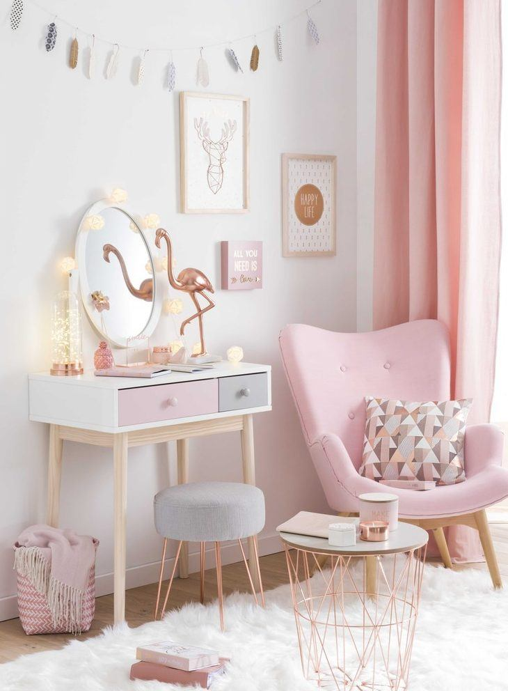 23 Stylish Teen Girl's Bedroom Ideas | Homelovr on Beautiful Room Design For Girl  id=57783