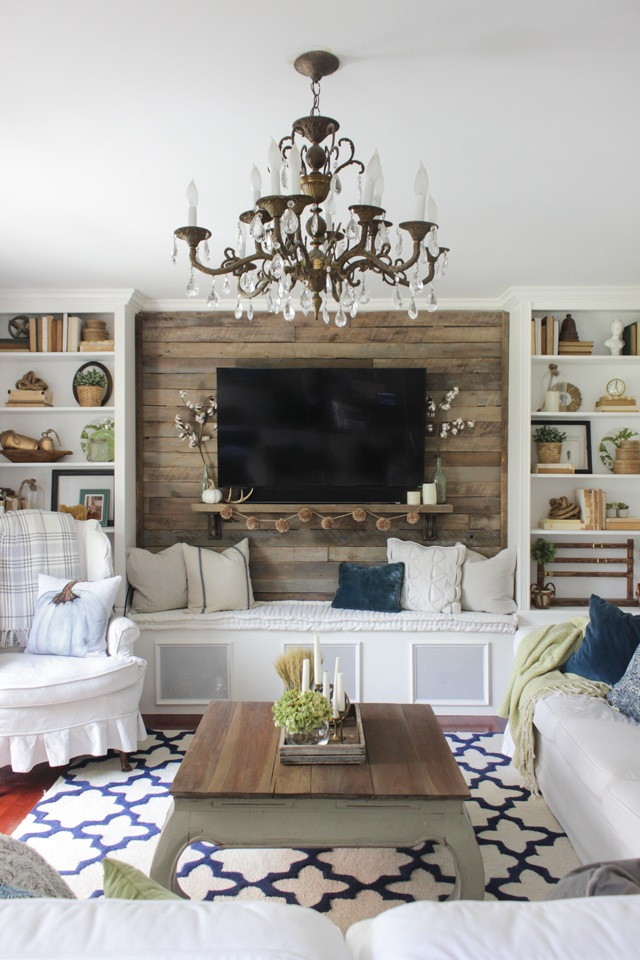 27 Rustic Farmhouse Living Room Decor Ideas for Your Home ...
