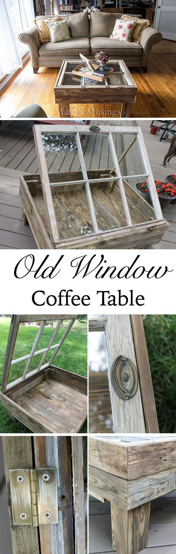brilliant ways to repurpose old windows
