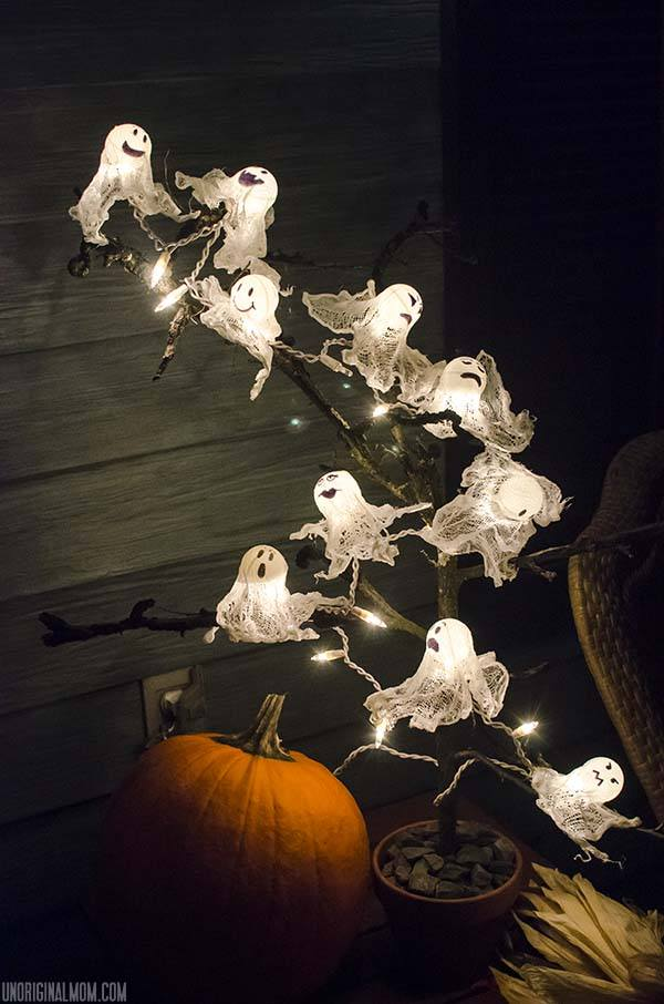 Ping Pong Ball Ghost Lights