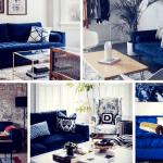 Gorgeous Blue Velvet Sofa Ideas For Your Living Room Homelovr