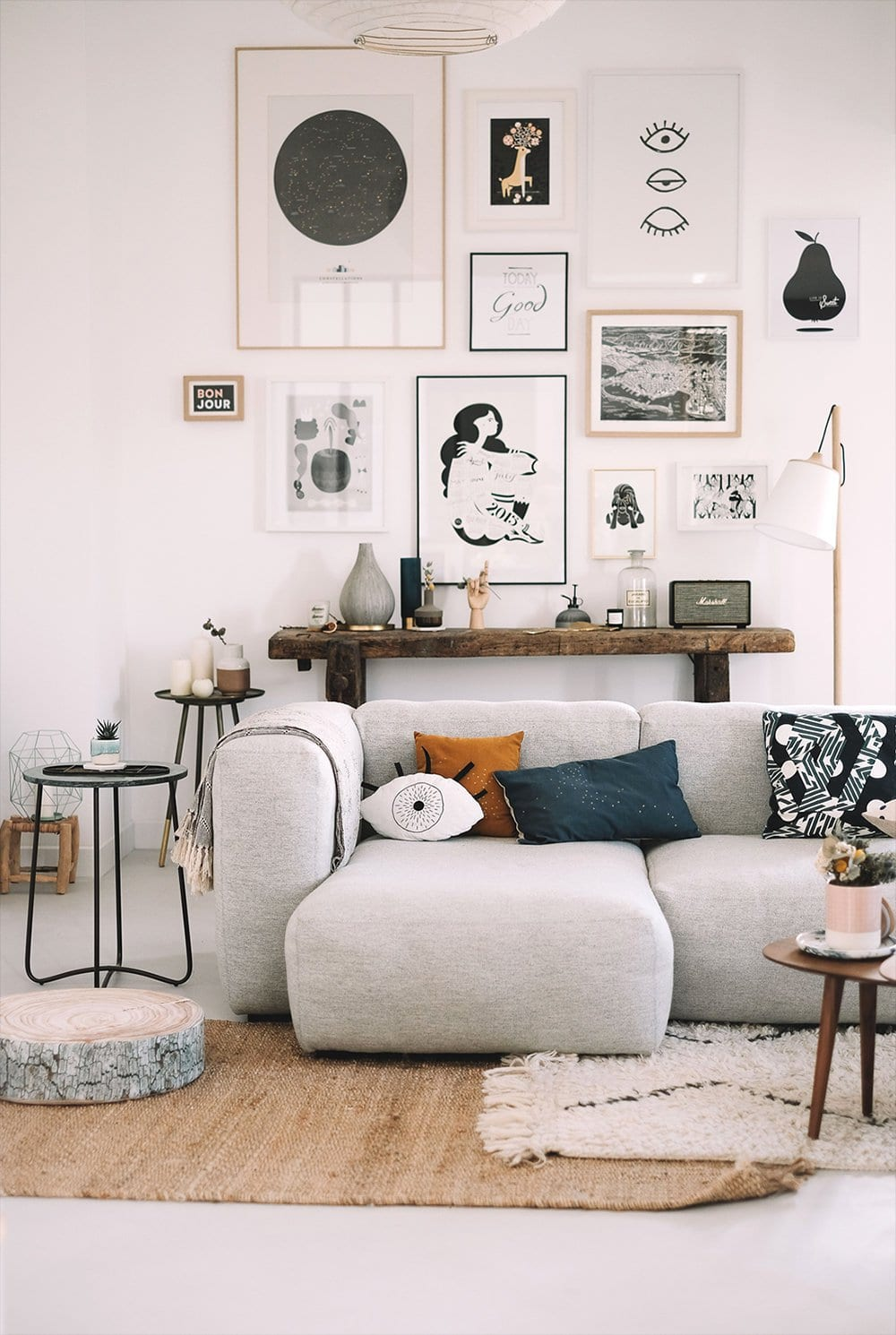 20 Gallery Wall Ideas to Create a Focal Point in Any Room ... on Photo Room Decor  id=72131