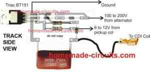 Simple Capacitive Discharge Ignition (CDI) Circuit   Homemade Circuit Projects