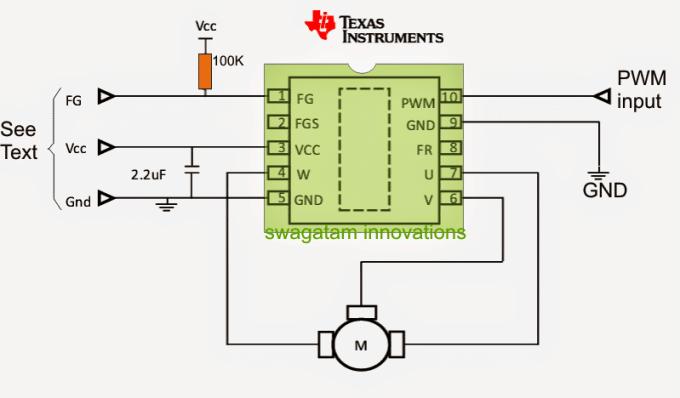 Sensorless bldc motor controller ic for Sensorless bldc motor control