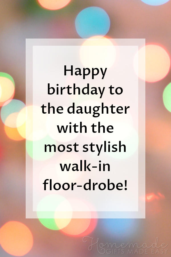 85 Happy Birthday Wishes For Daughters Best Messages Amp Quotes