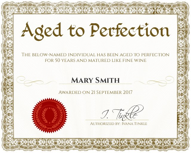 fun certificate templates free download aashe