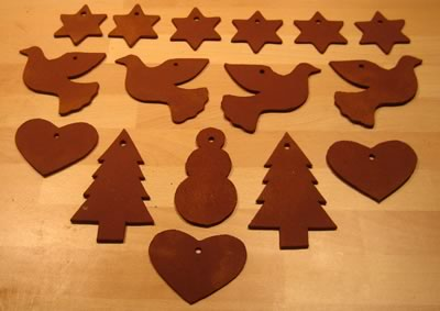 DIY Cinnamon Dough Ornaments Recipe Amp Free Templates