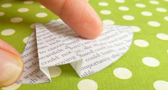 Book Print Dress Card Template