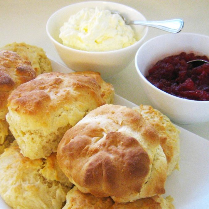 Easy Scone Recipe - How To Make Scones Using Only 4