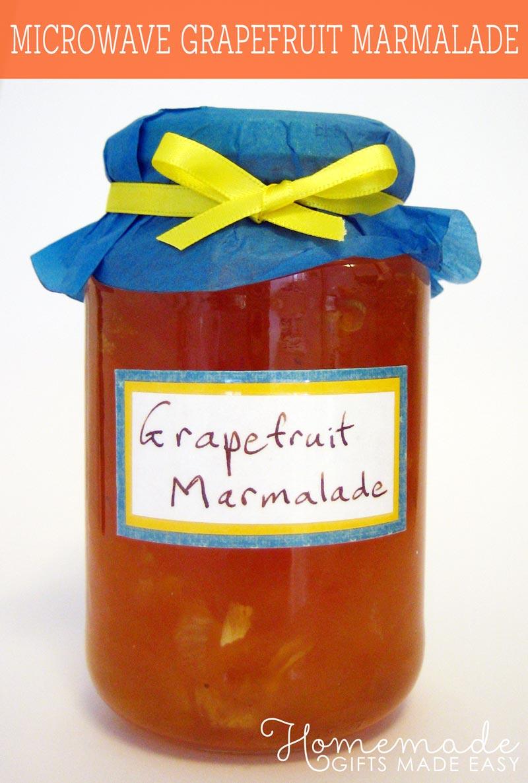Grapefruit Marmalade Recipe 25 Min Easy Homemade Jam Recipe