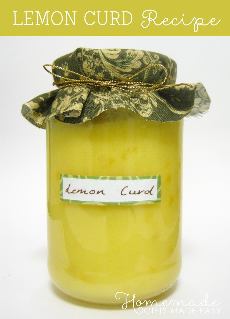 Lemon Curd Recipe Lemon Butter Recipe