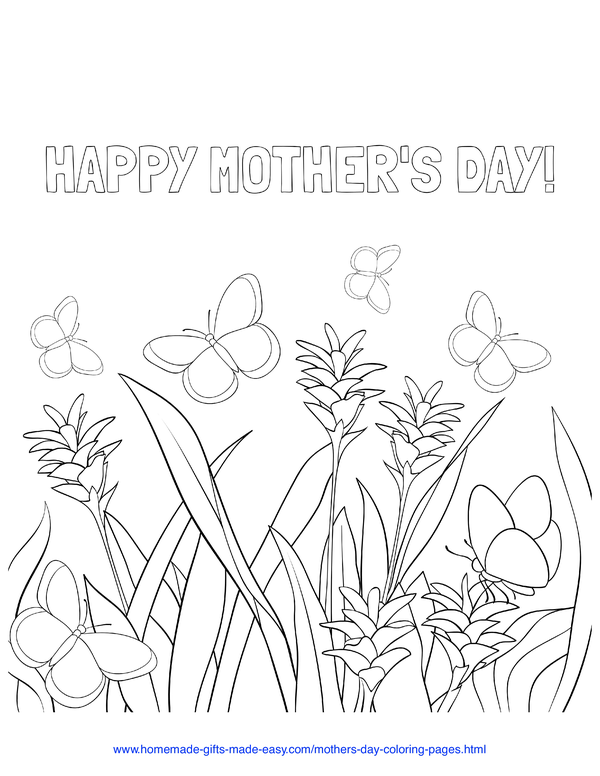 57 Best Mother S Day Coloring Pages Free Printables