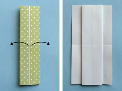 Homemade Origami Card To Make Cute Dress Design With