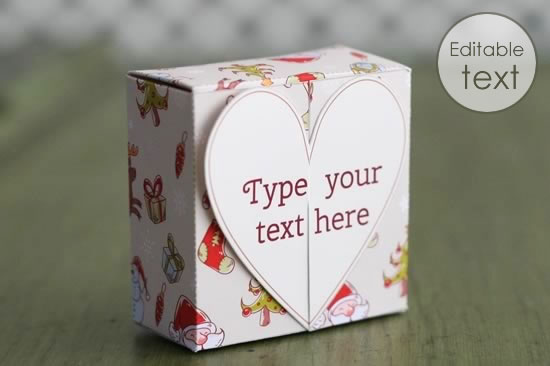Free Gift Box Templates To Download Print Amp Make