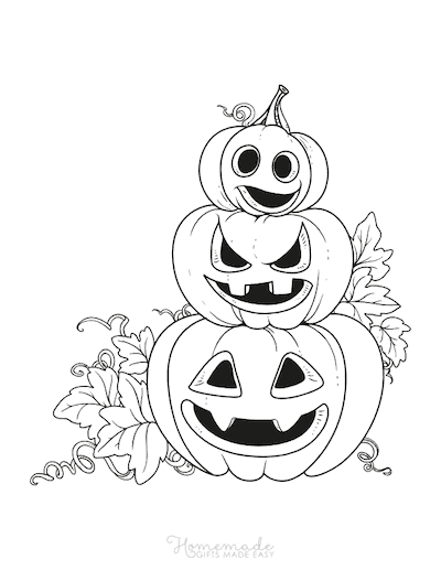 85 Pumpkin Coloring Pages For Kids Adults Free Printables