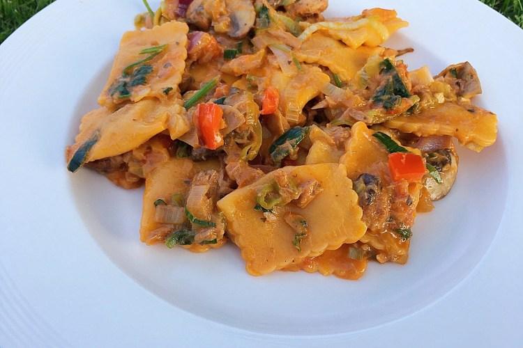 ❤️ Ravioli met tonijn & groentes