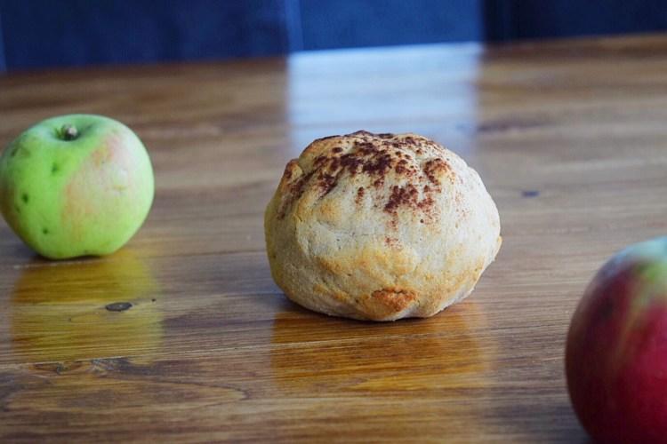Kokos appel kaneel ballen